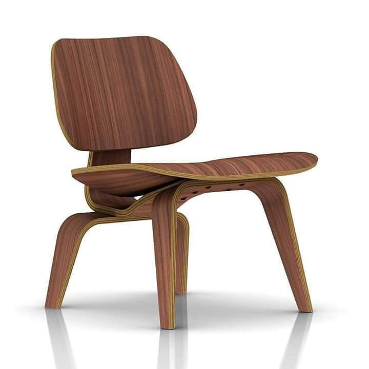 Inspirational Tuesday - Lounge Chair Wood (1946)  The Lounge Chair Wood was designed in 1946 by Charles and Ray Eames a husband and wife team that are considered the most influential designers of the 20th century. The aesthetic integrity enduring charm and comfort of the chairs earned them recognition from Timemagazine as The Best Design of the 20th Century.  The Lounge Chair Wood began as an experiment in the Eames apartment where they were moulding plywood in what they called the Kazam…