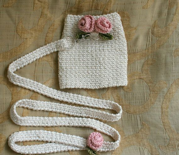 Dog Harness with matching leash Cream & Rose by BubaDog on Etsy