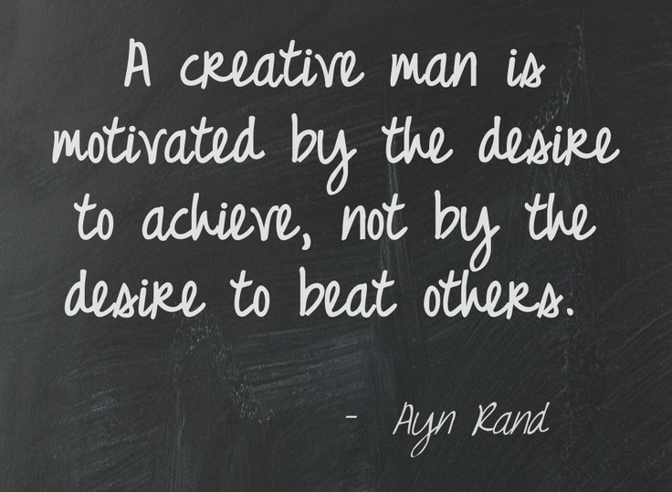 aND a creative WOMAN ;) this is soooo true!