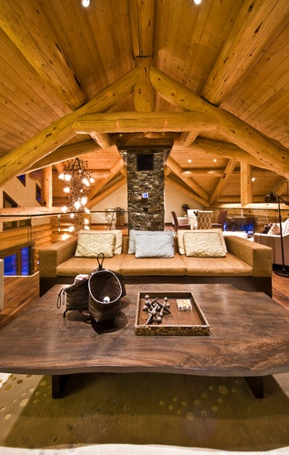 Modern Spaces Modern Log Cabin Design, Pictures, Remodel, Decor and Ideas - page 5