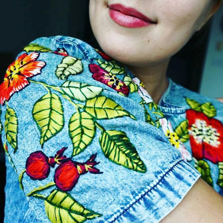 Научитесь Вышивать Новое Вышивка Мексиканская – Учится Диана