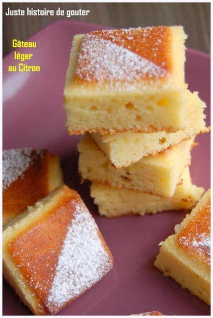 Juste histoire de goûter: Gâteau léger au Citron