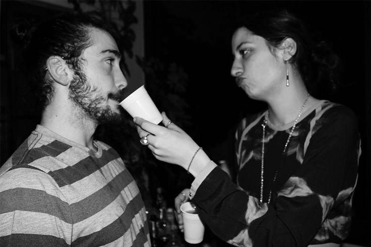 Sandro et Barbara #fête #party #anniversaire #birthday #paris #france #photography #blackandwhite #blackandwhitephotography