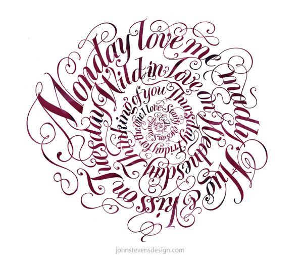The Art Craft Of Written Letterforms By John Stevens