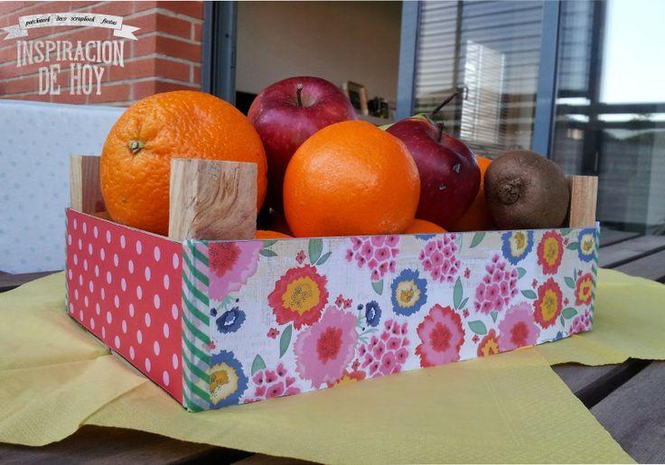 DIY: Forrar una caja de frutas