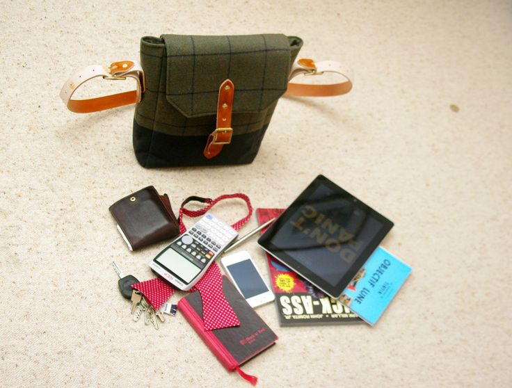 A Fairweather bag holds loads of useful things