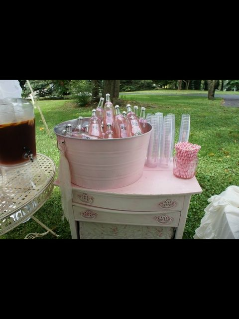 shabby chic baby shower designs | Pink and White shabby chic Baby Shower Party Ideas | Photo 19 of 35 ...