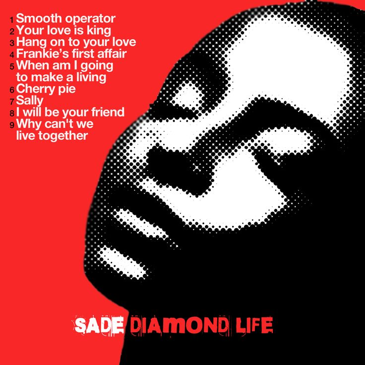 SADE - Diamond life CD COVER