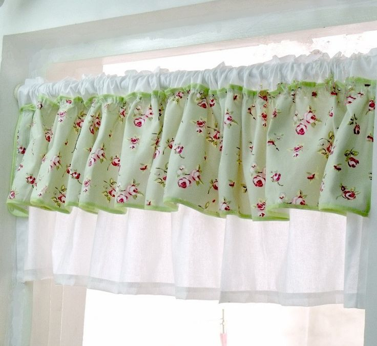 Green Kitchen Curtain Ideas: 1000+ Ideas About Kitchen Valances On Pinterest