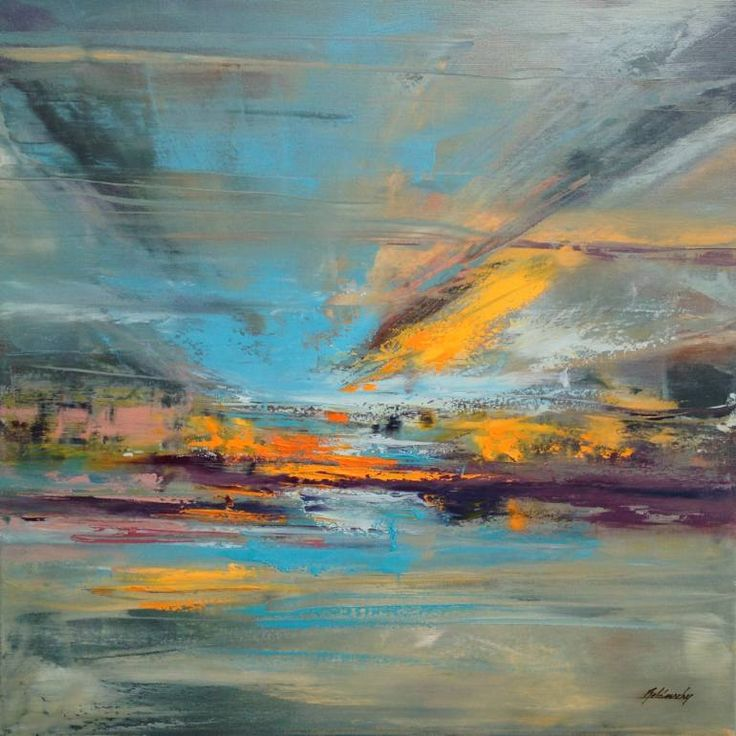 "Saatchi Art Artist Beata Belanszky-Demko; Painting, ""Fallen from the Sky"" #art"