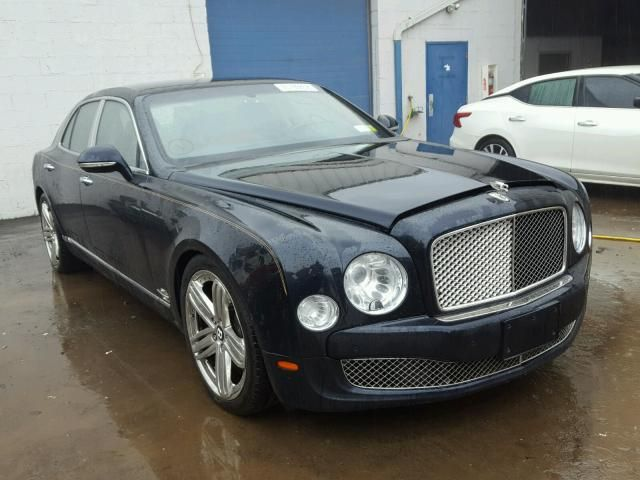 Salvage 2012 Bentley Mulsanne Salvage Cars Car Auctions
