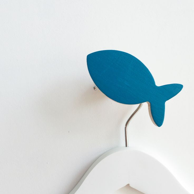 New arrival Fish wall hooks have landed at www.knobbly.com.au