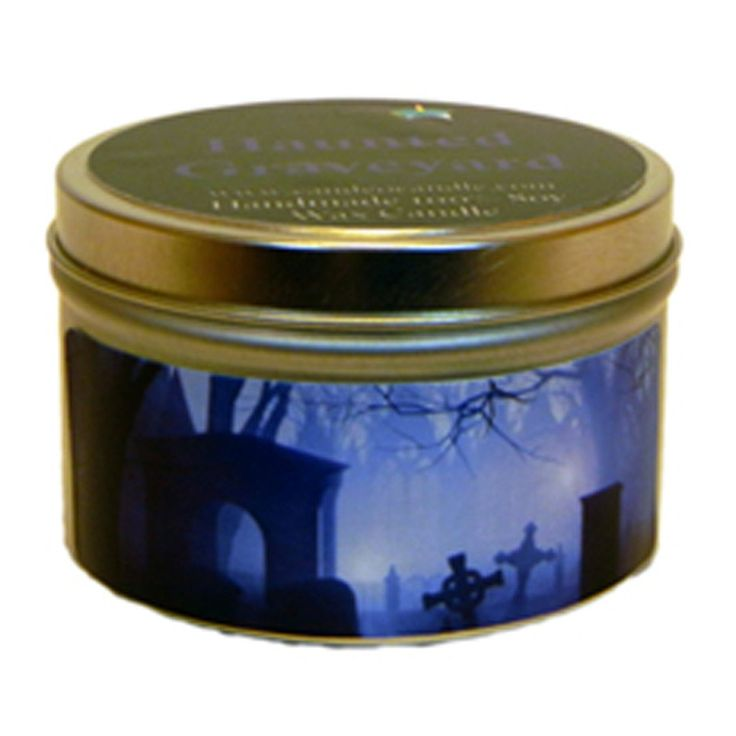 Haunted Graveyard, 4oz Soy Candle Tin