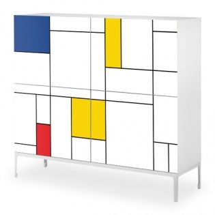 Mykea Simplicity Bright: Mondrian-style design for your IKEA furniture