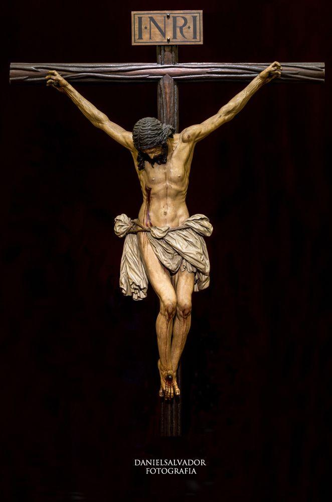 Fotografía del Cristo de la Buena Muerte. (Hermandad de los Estudiantes). Sevilla. - Fotografía. Daniel Salvador-Almeida