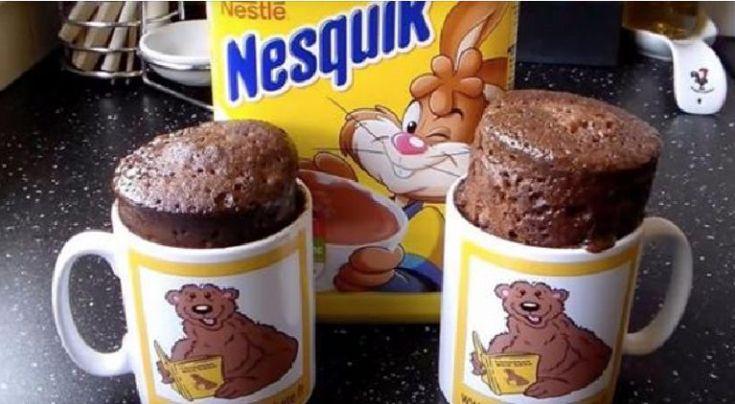MUG CAKE Nesquik