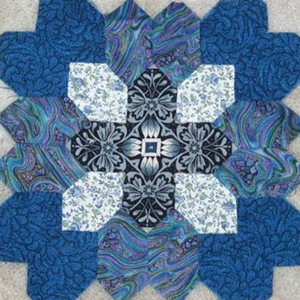 Patchwork of the Crosses by Joan Cumming