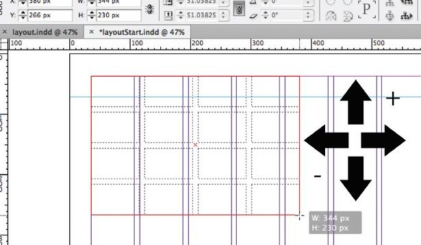 Basic grid layout tricks in InDesign (How did I not know this? Ridiculous!)