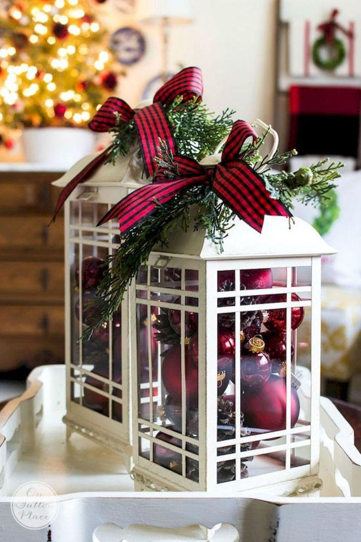 Farmohouse Christmas Living Room Decoration Ideas (35 Part 60