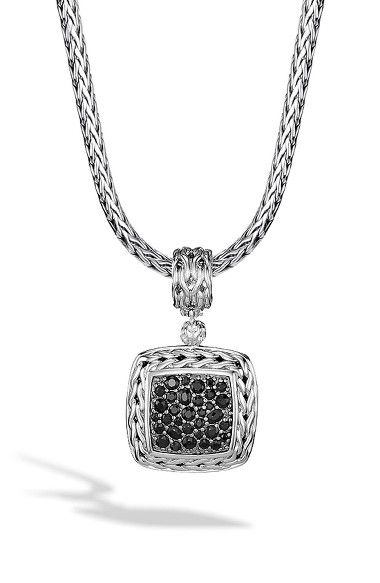 John Hardy 'Classic Chain' Square Pendant | Nordstrom