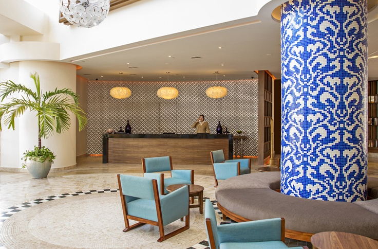 Sandos Cancun Lobby