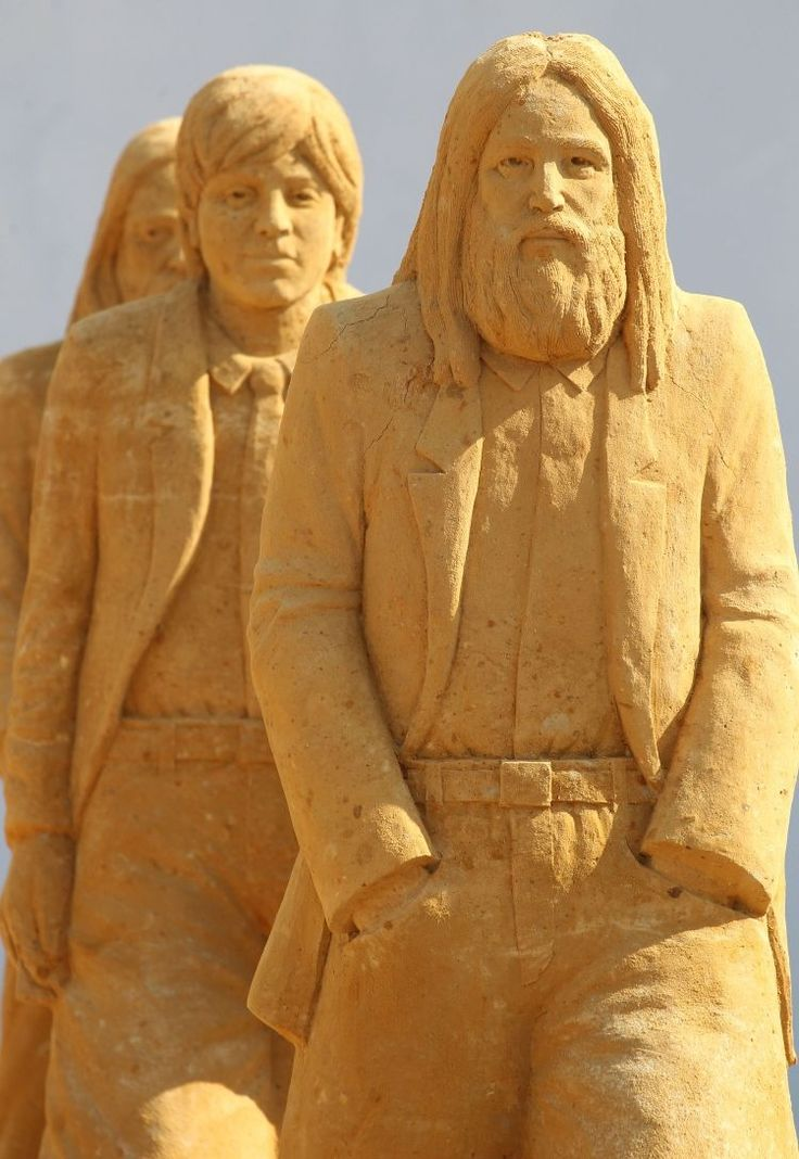 Famous Sand Sculptures | The theme for this year is a Sing-a-Song of Sculpture and The Beatles ...