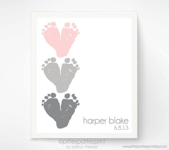Hey, I found this really awesome Etsy listing at https://www.etsy.com/listing/157240301/pink-gray-nursery-wall-art-baby