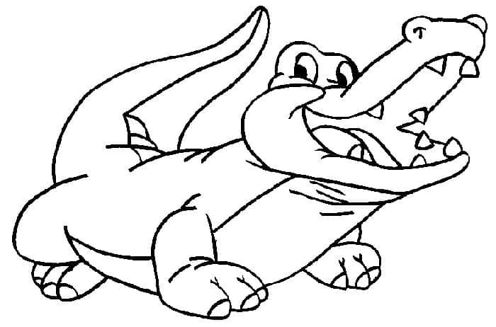Alligator Coloring Pages In 2020 Cartoon Coloring Pages Animal Coloring Pages Coloring Pages