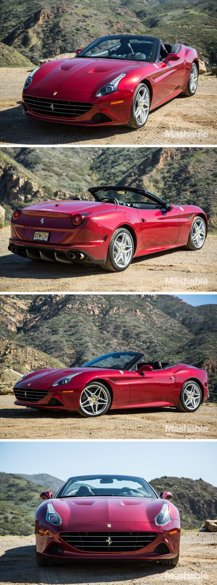 Ferrari's new California T car exemplifies the best of the the automotive industry