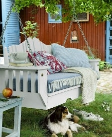 tuinbank: Porch Swings, Outdoor Living, Dream, Gardening, Backyard, House