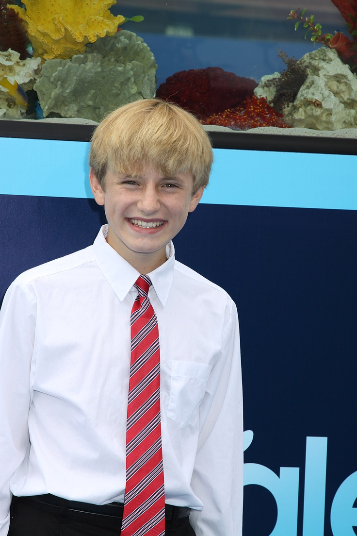 Nathan Gamble as Sawyer Nelson from Dolphin Tale