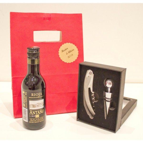 Vino de Rioja antaño + Set vino, este podría decirse que es un clásico en cuestión de #regalos con él siempre quedarás bien #regalosclasicos #vinorioja #vinoantaño #setdevino