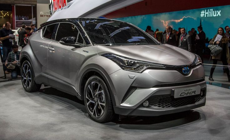 2017 Toyota C-HR USA: A Funky CUV for the Subcompact Crowd  - If the blowing up subcompact-crossover sector were an event, Toyota would just...