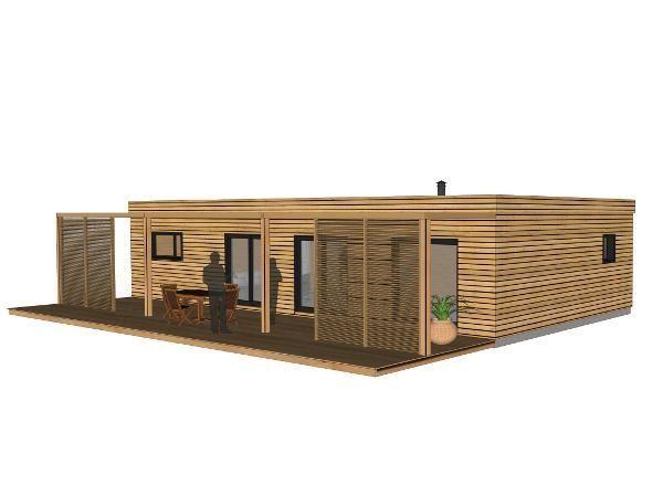 Prix Maison En Bois En 2020 Maison Bioclimatique