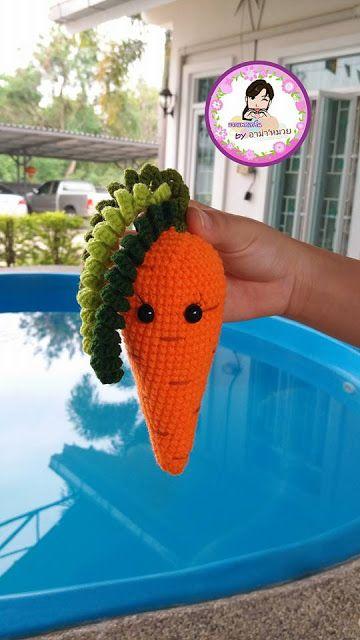 Leithygurumi: Amigurumi Havuç Ücretsiz Tarif / Amigurumi Carrot Free Pattern