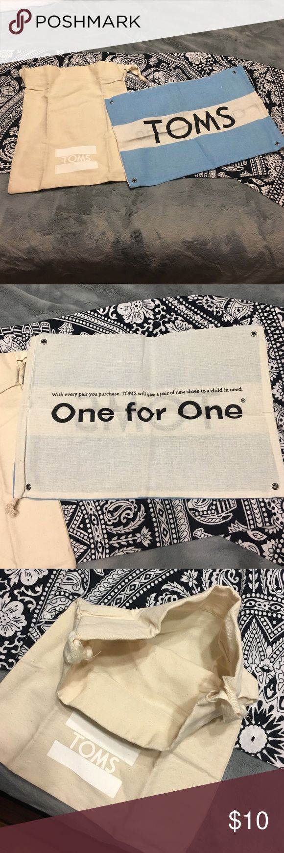 TOMS BAG SACKS By questions please feel free to ask TOMS Bags Totes
