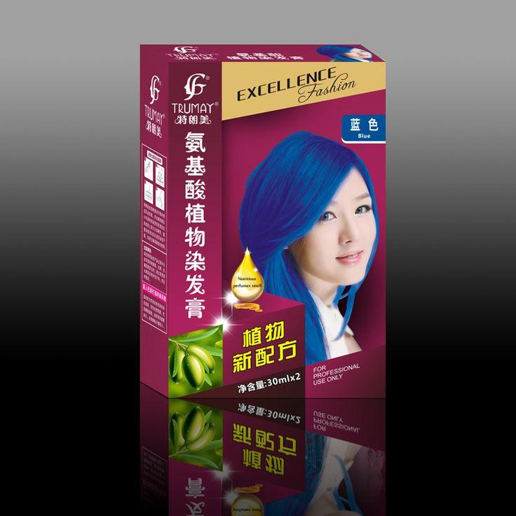 Moda 19 colori tinture per capelli crema 30 ml * 2 crema di colore dei capelli FAI DA TE colorazione dei capelli permanente regular coprirà tutti i capelli