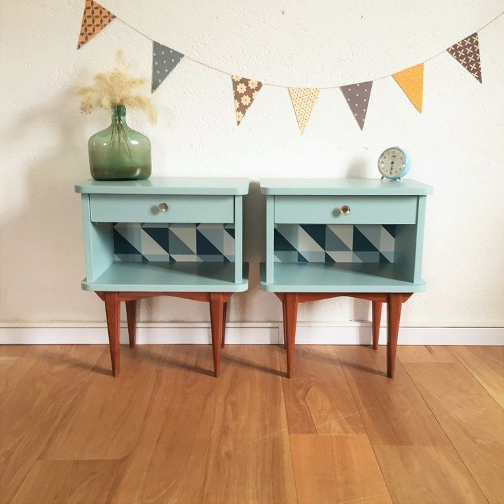 204 best meuble images on Pinterest | Blue, Bureau vintage and ...
