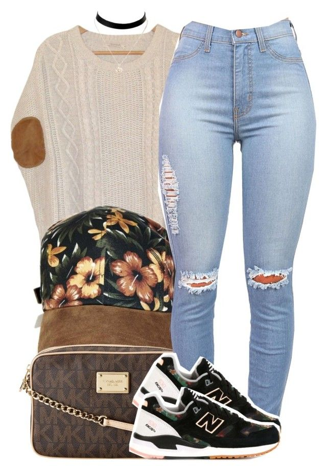 """""""fly"""" by trinsowavy ❤ liked on Polyvore featuring Urban Outfitters, Y-3, MICHAEL Michael Kors and New Balance"""