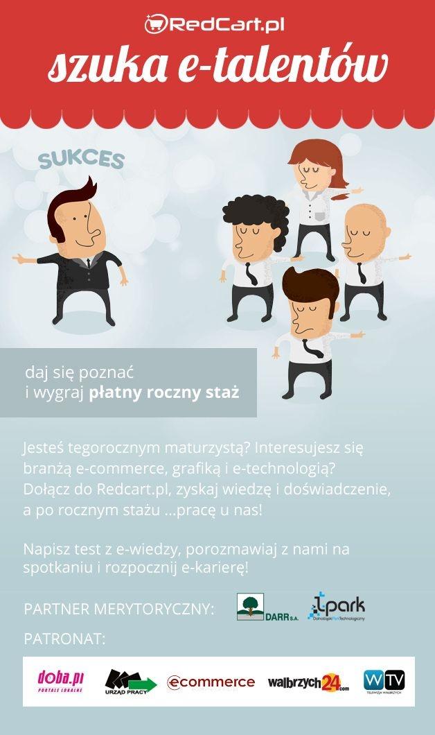 """Rusza #konkurs """"RedCart szuka e-talentów""""! Daj się poznać i dołącz do najlepszych! http://redcart.pl/blog/aktualnosci/324/rusza-konkurs-quot-redcart-szuka-e-talentow-quot-.html"""