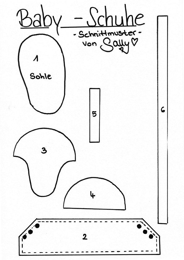 Sallys Rezepte Baby Chucks Baby Schuhe als Dekoration