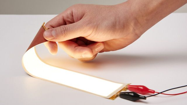 LG Chem has developed Plastic Film type Flexible OLED Panels | lighting.eu