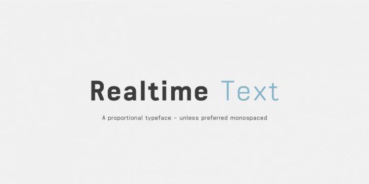 Realtime Text Font Download Font Fonts Typography Typeface Webdesign Text Fonts Download Fonts Cool Fonts