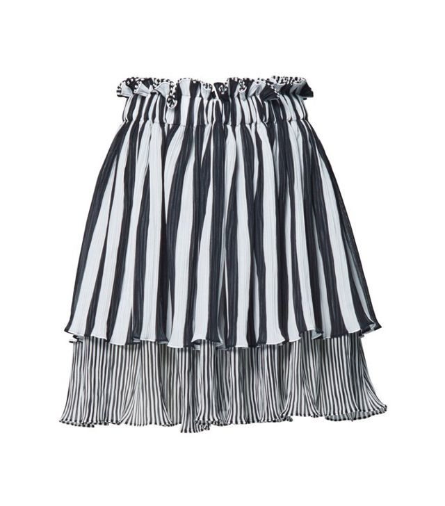 Romance Was Born Coco Pleated Frill Skirt