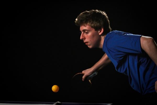 Michael Landers, 17-year-old table tennis phenom