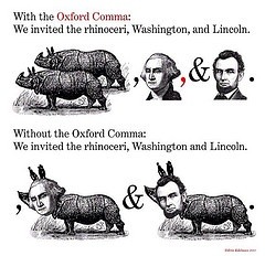 Oxford Comma for President!