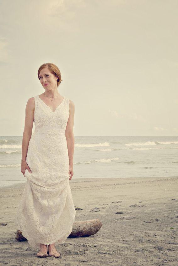 Beach Wedding Anthropologie Dress Engagement And