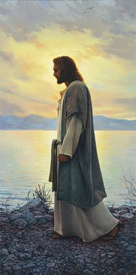 Walk with Me ~ by Greg Olsen
