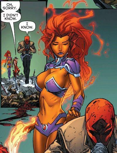 Opinion Dc comics starfire sexy are