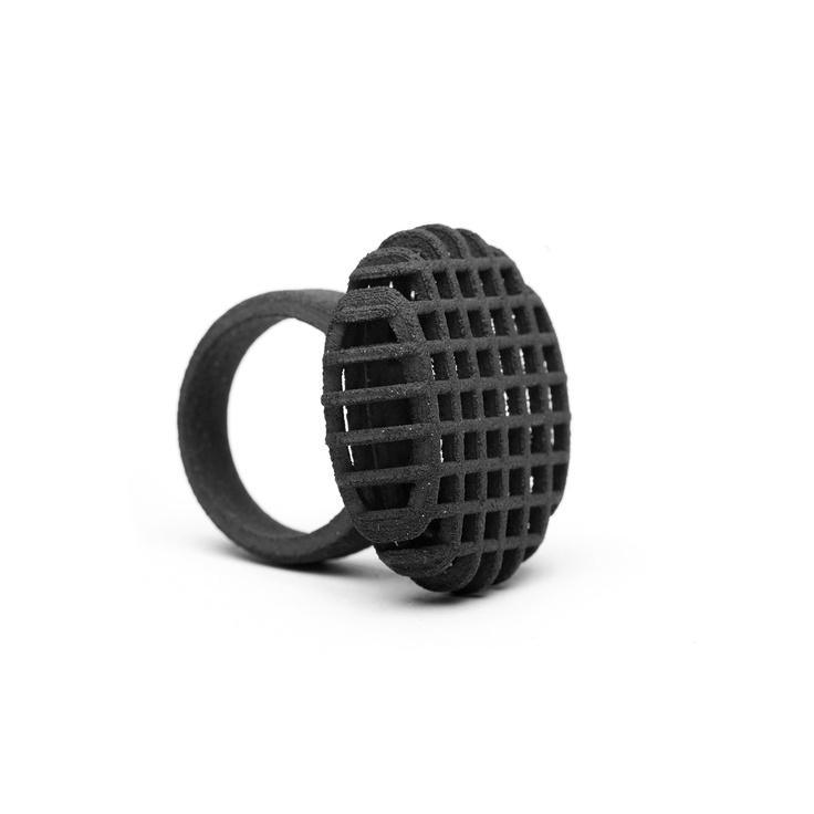 Net Ring 3D Printed
